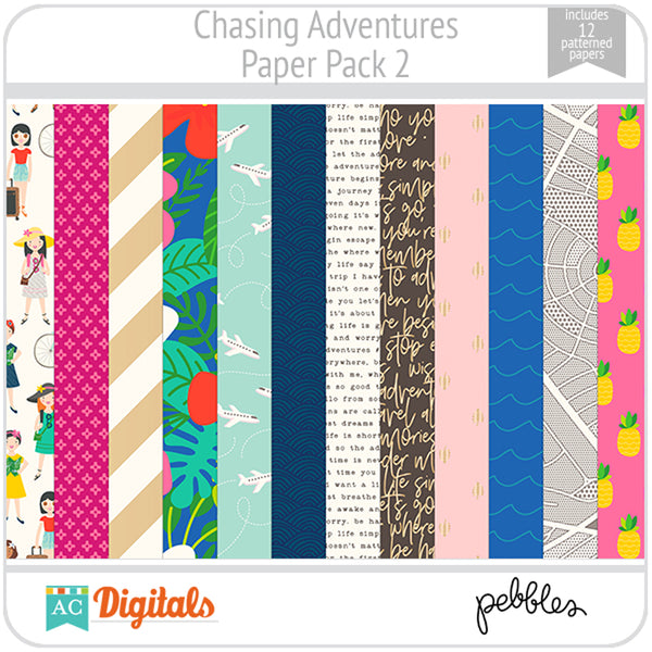 Chasing Adventures Paper Pack 2
