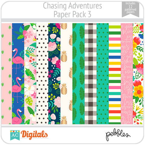 Chasing Adventures Paper Pack 3