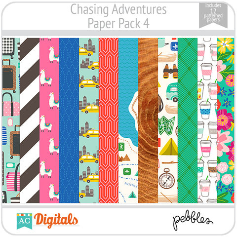 Chasing Adventures Paper Pack 4