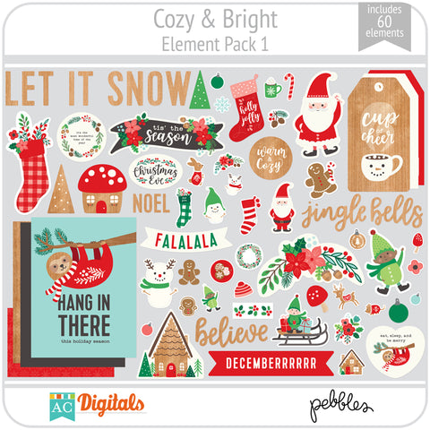 Cozy & Bright Element Pack 1