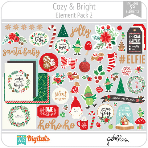 Cozy & Bright Element Pack 2