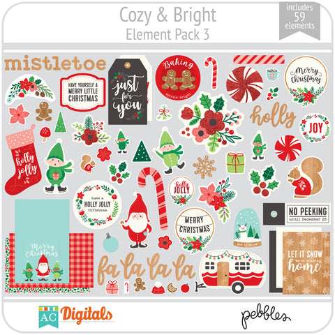 Cozy & Bright Element Pack 3