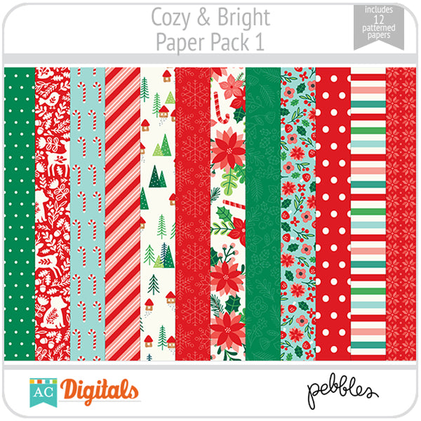 Cozy & Bright Paper Pack 1