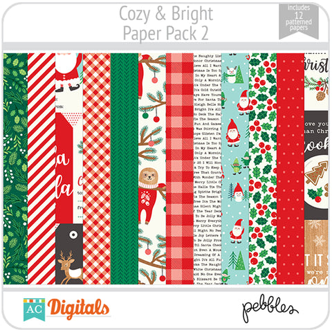 Cozy & Bright Paper Pack 2