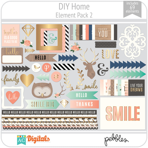 DIY Home Element Pack 2