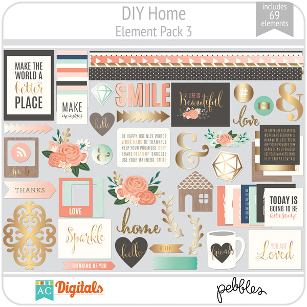 DIY Home Element Pack 3