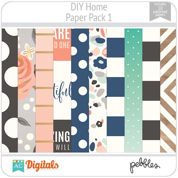 DIY Home Paper Pack 1
