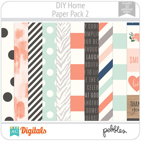DIY Home Paper Pack 2