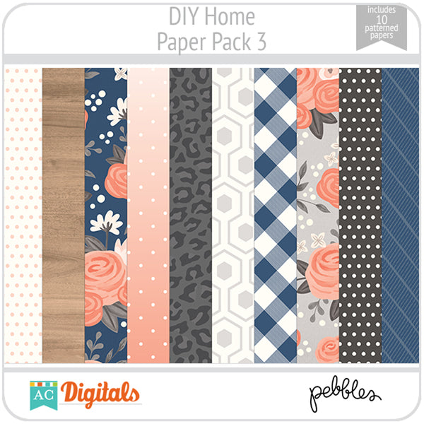 DIY Home Paper Pack 3