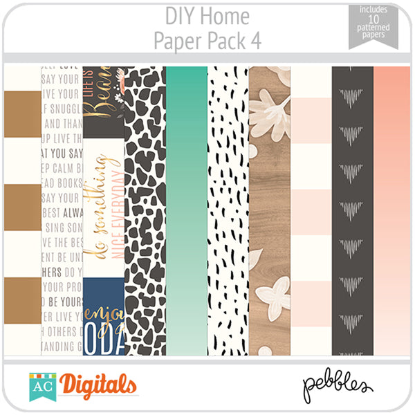 DIY Home Paper Pack 4