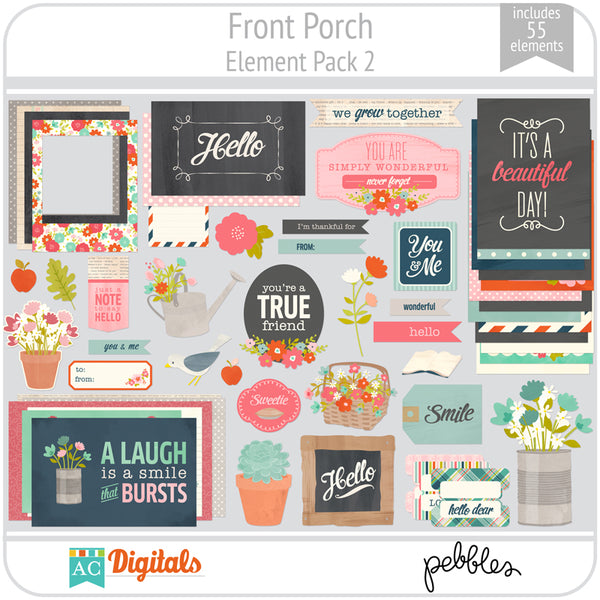 Front Porch Element Pack 2