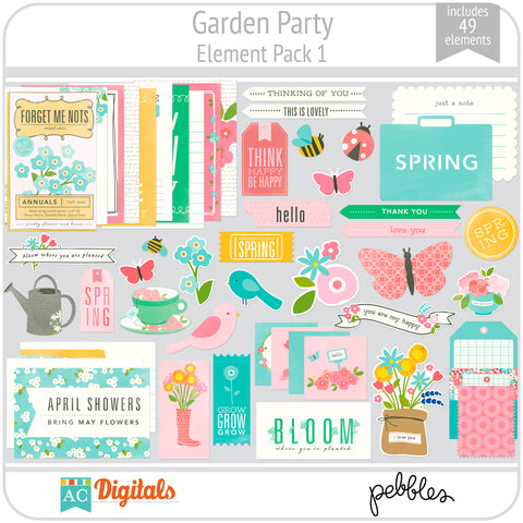 Garden Party Element Pack 1