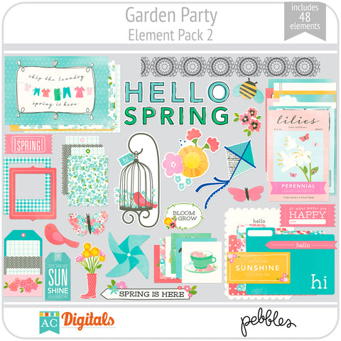 Garden Party Element Pack 2