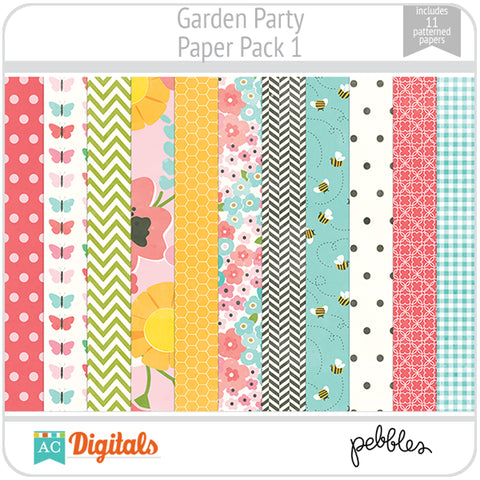 Garden Party Paper Pack 1