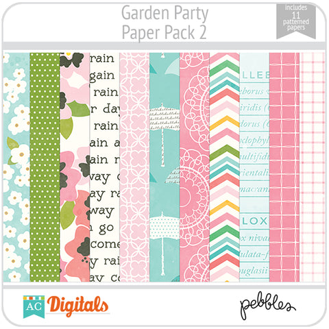 Garden Party Paper Pack 2