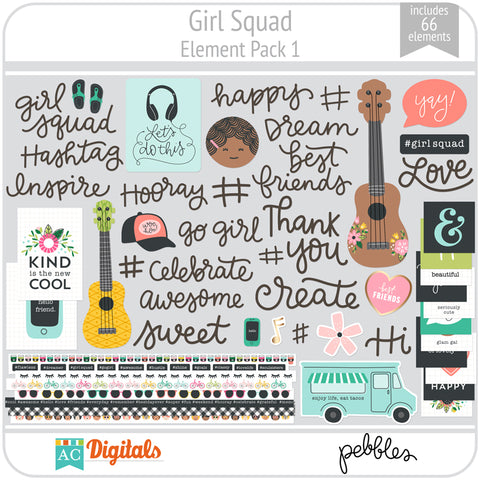 Girl Squad Element Pack 1