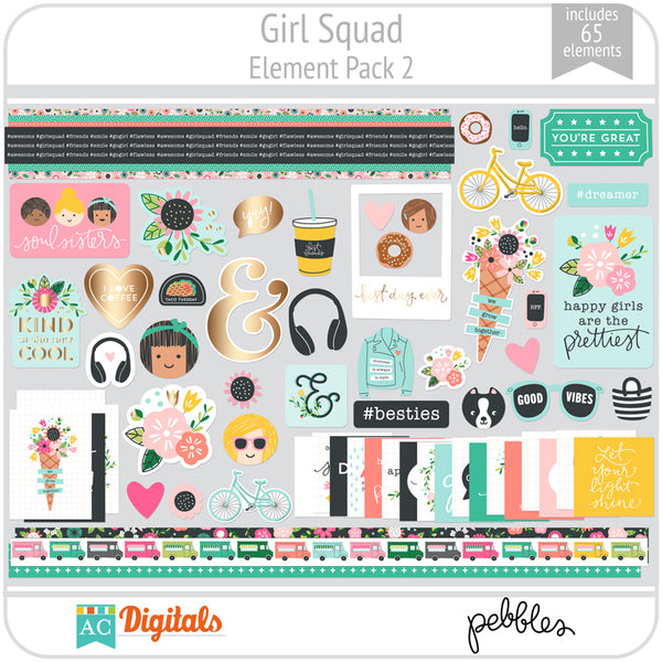 Girl Squad Element Pack 2