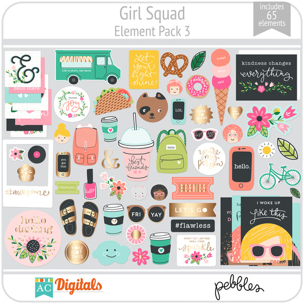 Girl Squad Element Pack 3
