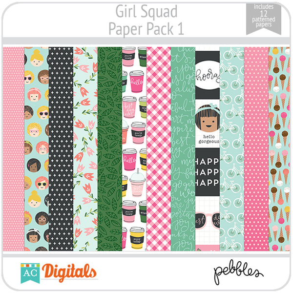 Girl Squad Paper Pack 1