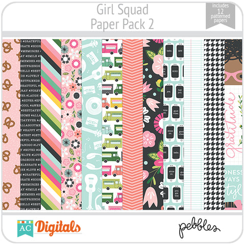 Girl Squad Paper Pack 2