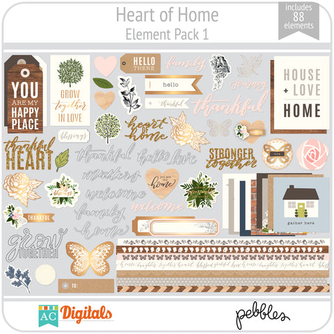 Heart of Home Element Pack 1