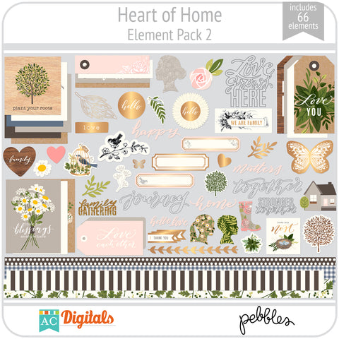 Heart of Home Element Pack 2