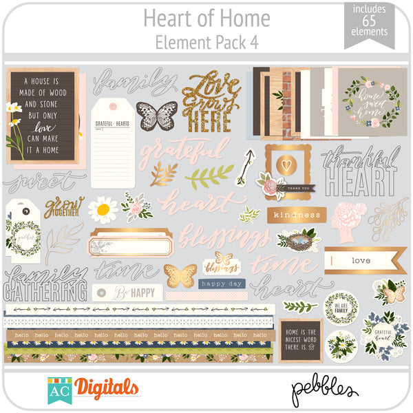 Heart of Home Element Pack 4