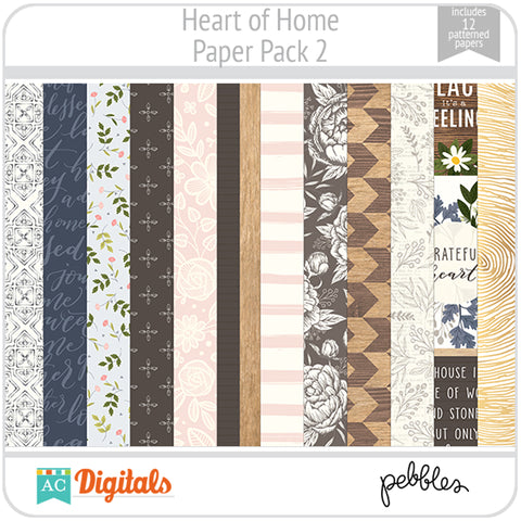 Heart of Home Paper Pack 2