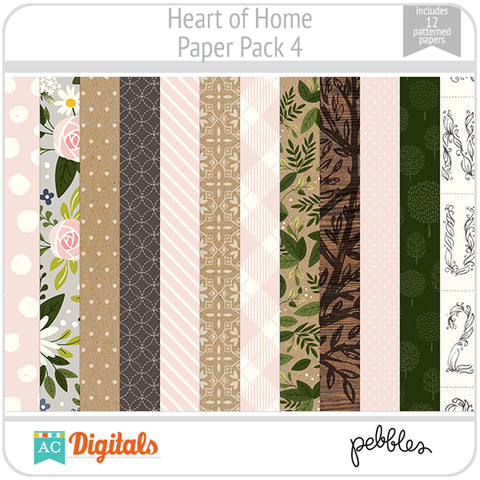 Heart of Home Paper Pack 4
