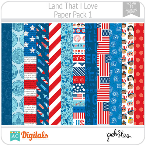 Land That I Love Paper Pack 1