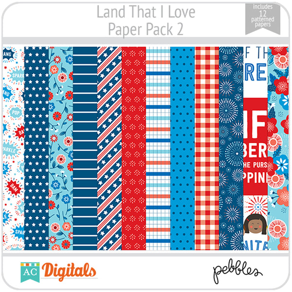 Land That I Love Paper Pack 2