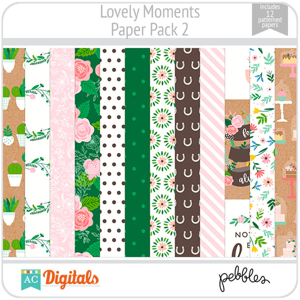 Lovely Moments Paper Pack 2