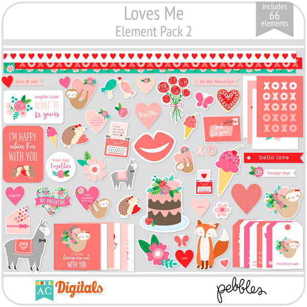 Loves Me Element Pack 2