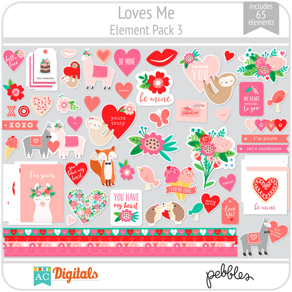 Loves Me Element Pack 3