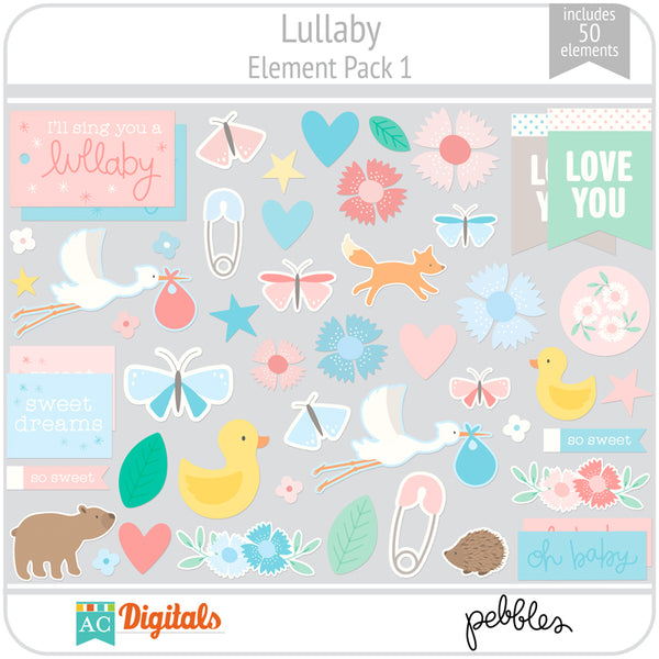 Lullaby Element Pack 1