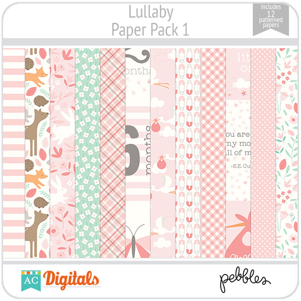 Lullaby Paper Pack 1