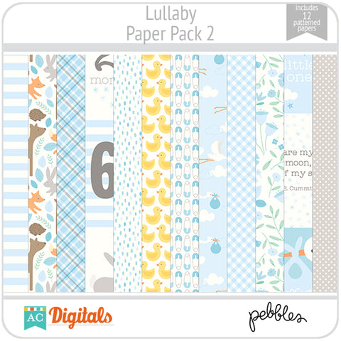 Lullaby Paper Pack 2