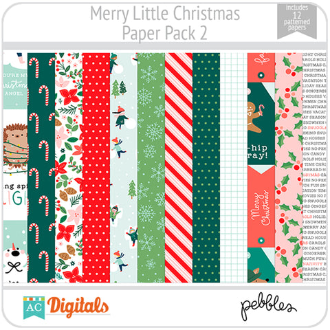 Merry Little Christmas Paper Pack 2