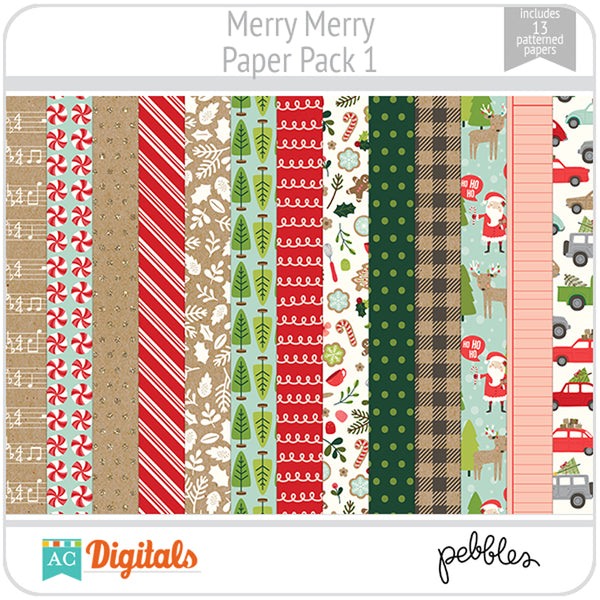 Merry Merry Paper Pack 1