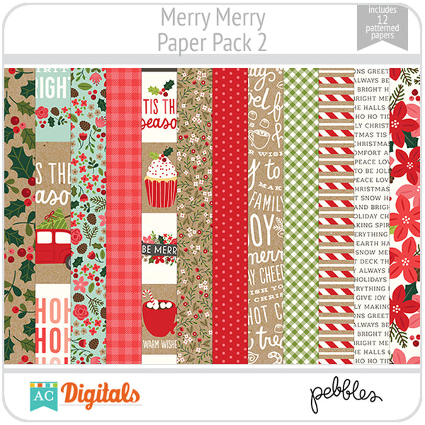 Merry Merry Paper Pack 2