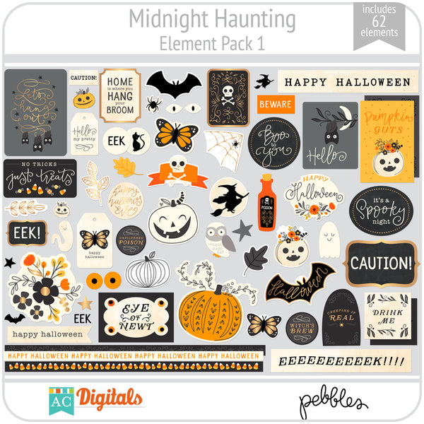 Midnight Haunting Element Pack 1