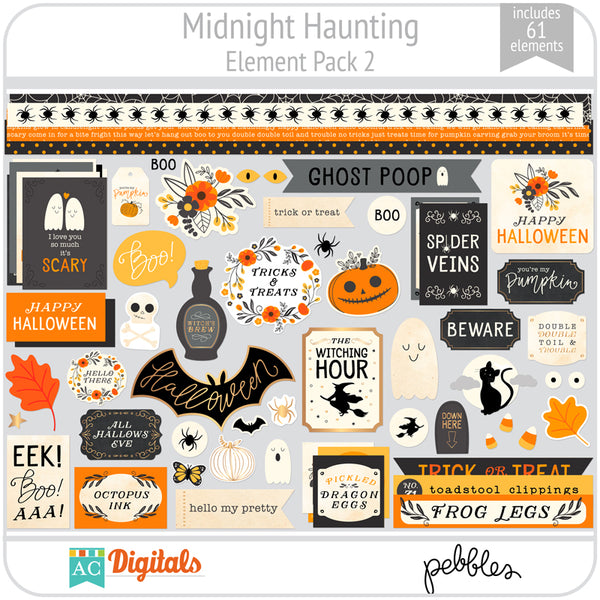 Midnight Haunting Element Pack 2