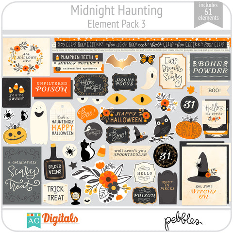 Midnight Haunting Element Pack 3