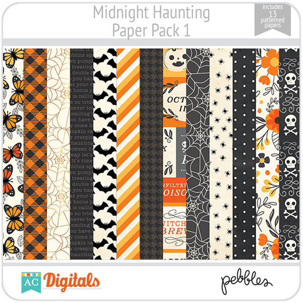 Midnight Haunting Paper Pack 1