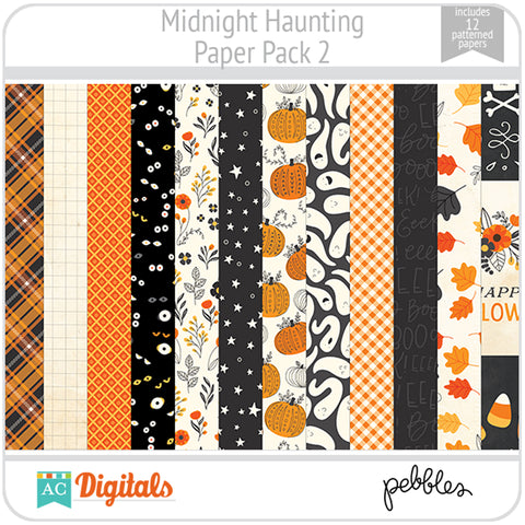 Midnight Haunting Paper Pack 2