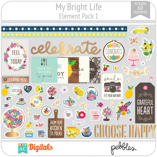 My Bright Life Element Pack 1