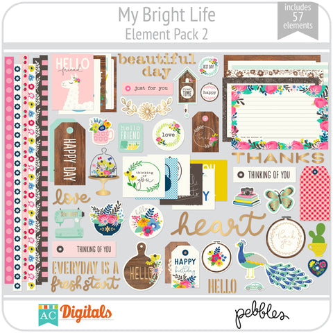 My Bright Life Element Pack 2