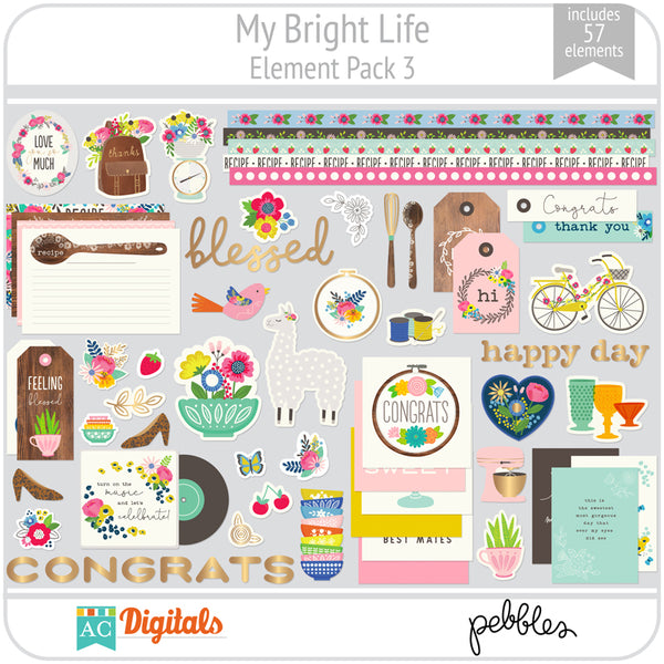 My Bright Life Element Pack 3