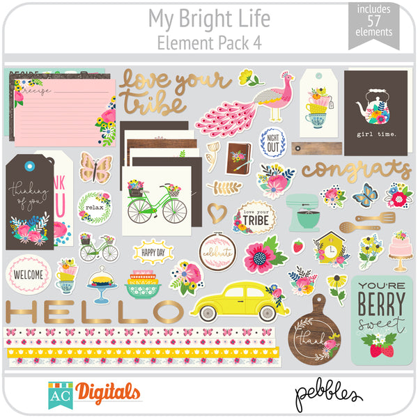 My Bright Life Element Pack 4