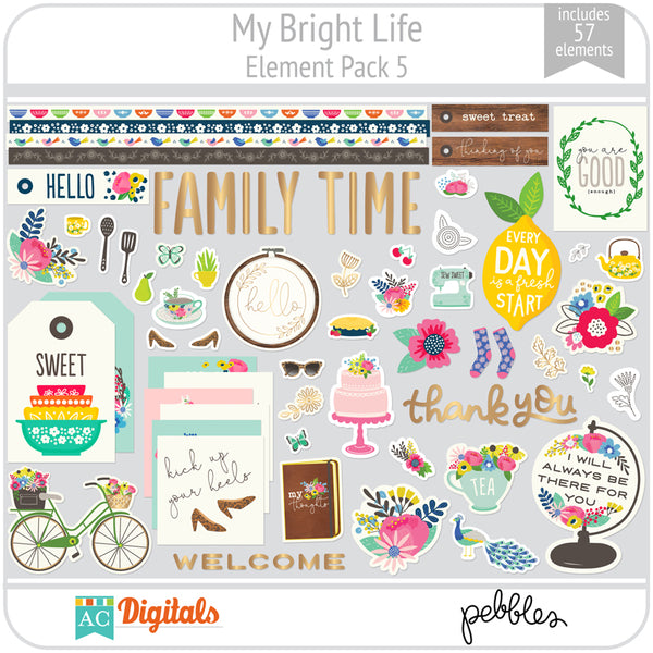 My Bright Life Element Pack 5